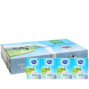 Thùng 48 hộp sữa tươi tiệt trùng Dutch Lady có đường 110ml