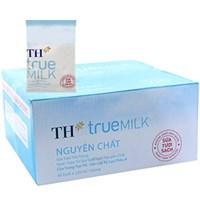 Thùng sữa tươi tiệt trùng TH True Milk Nguyên chất bịch 220ml (48 bịch)
