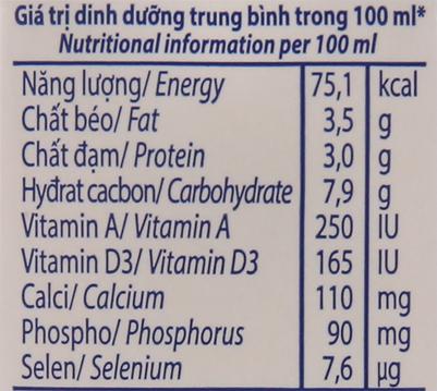 Thùng 48 hộp sữa tươi có đường Vinamilk 100% Sữa Tươi 110ml 6