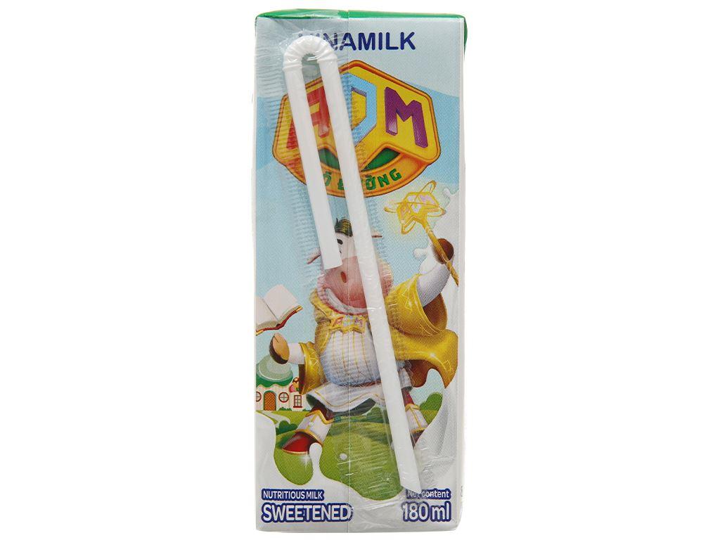 Thùng 48 hộp sữa dinh dưỡng có đường Vinamilk ADM 180ml 6
