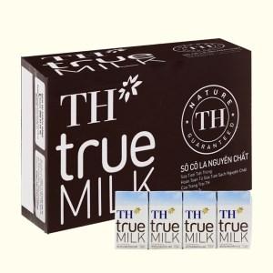 Thùng 48 hộp sữa tươi tiệt trùng socola TH true MILK 110ml