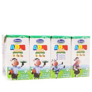 Lốc 4 hộp sữa dinh dưỡng Vinamilk ADM Gold có đường 110ml