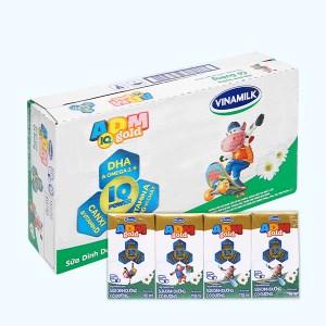 Thùng 48 hộp sữa dinh dưỡng có đường Vinamilk ADM Gold 110ml