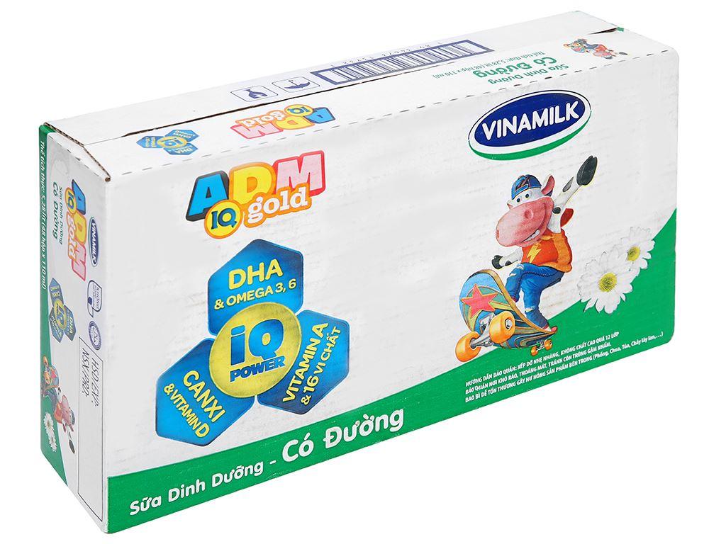 Thùng 48 hộp sữa dinh dưỡng có đường Vinamilk ADM Gold 110ml 1