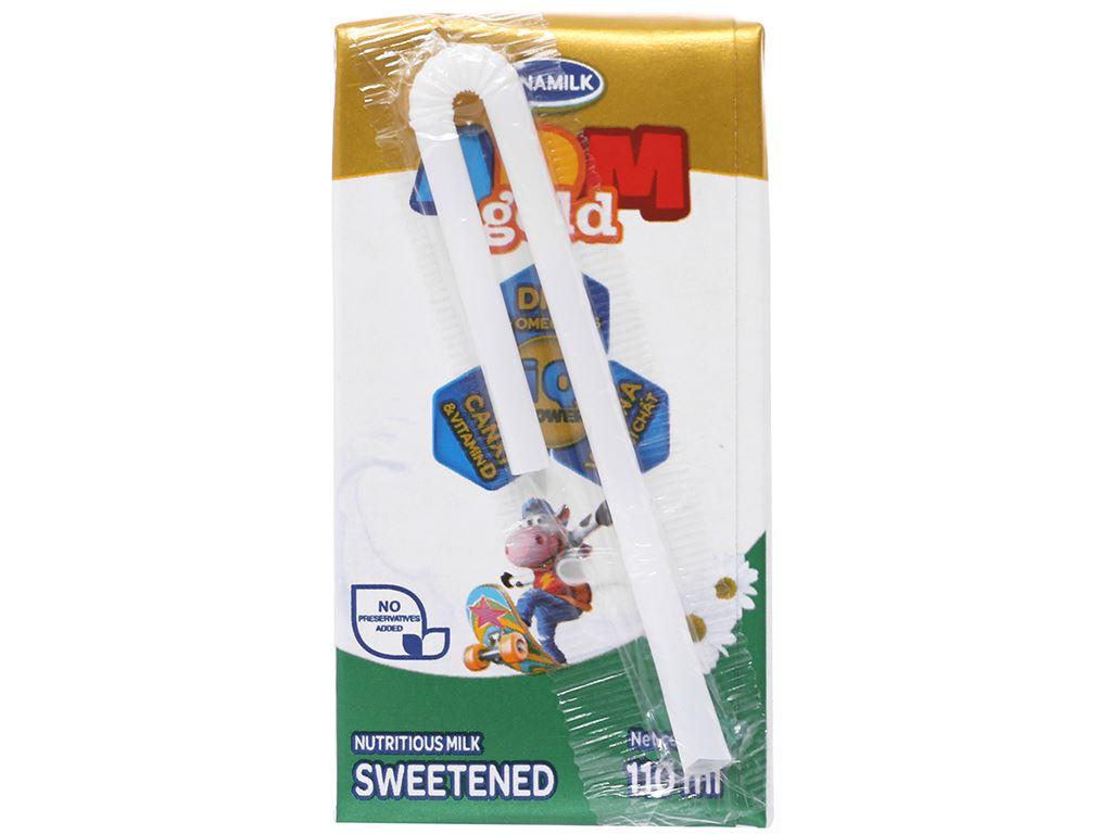 Thùng 48 hộp sữa dinh dưỡng có đường Vinamilk ADM Gold 110ml 4