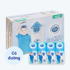 Thùng 48 hộp sữa tiệt trùng có đường Dutch Lady Cao Khoẻ 170ml