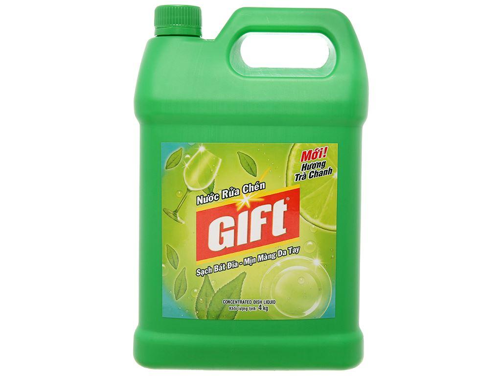 Gift hương trà chanh can 4kg 2
