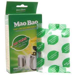 Chất làm sạch bình đun nước Mao Bao khử mùi & sạch cặn túi 25g