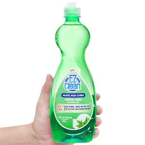 Nước rửa chén Ez Clean chiết xuất trà xanh chai 800g