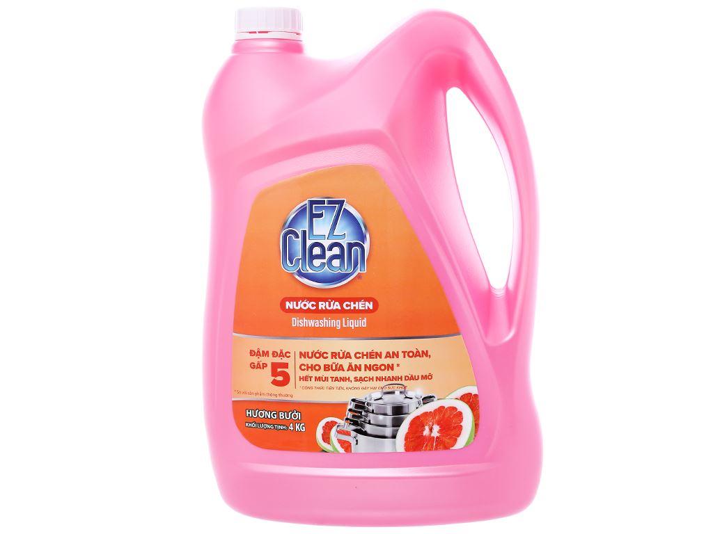 Nước rửa chén Ez Clean chiết xuất bưởi can 4kg 1
