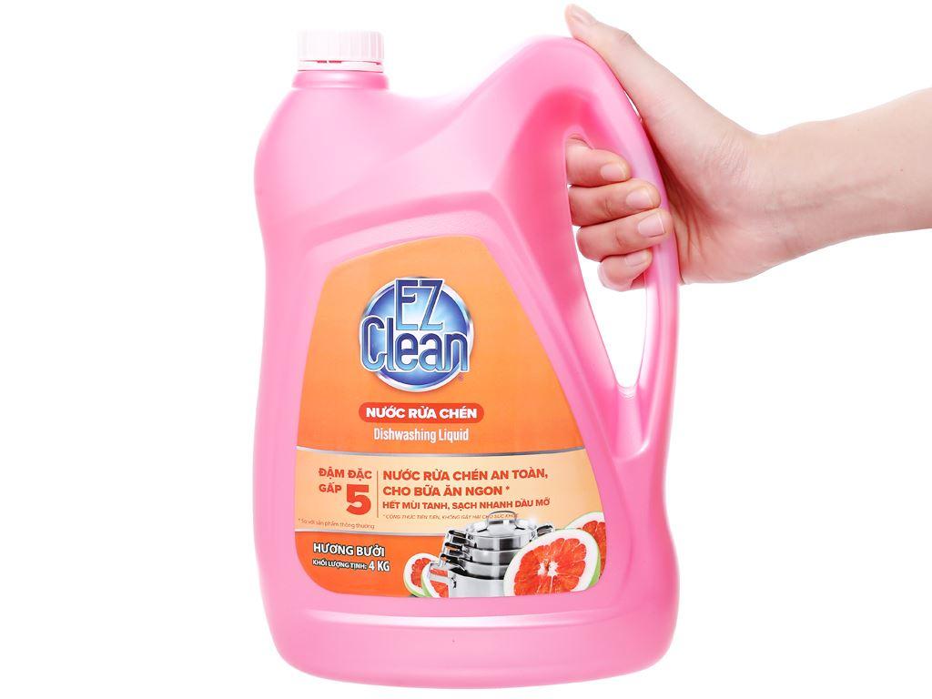 Nước rửa chén Ez Clean chiết xuất bưởi can 4kg 4