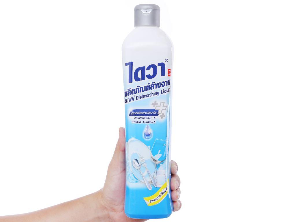 Nước rửa chén Daiwa diệt khuẩn không mùi chai 800ml 3
