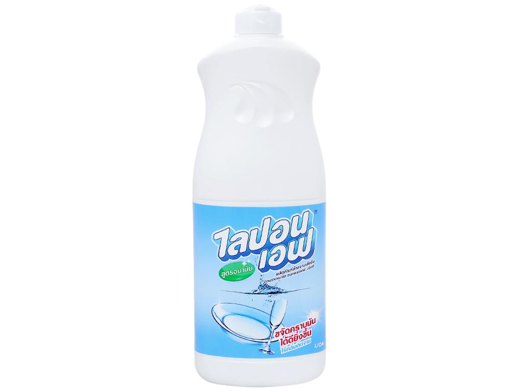 Nước rửa chén Lipon hương nhẹ nhàng chai 800ml 1