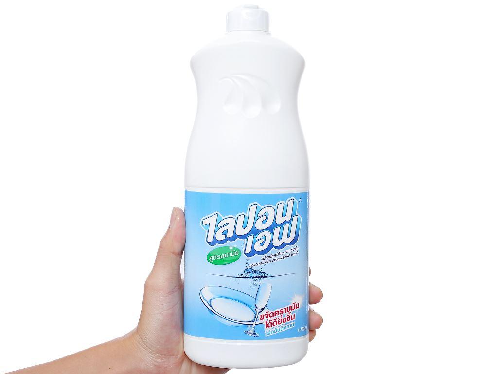 Nước rửa chén Lipon hương nhẹ nhàng chai 800ml 3