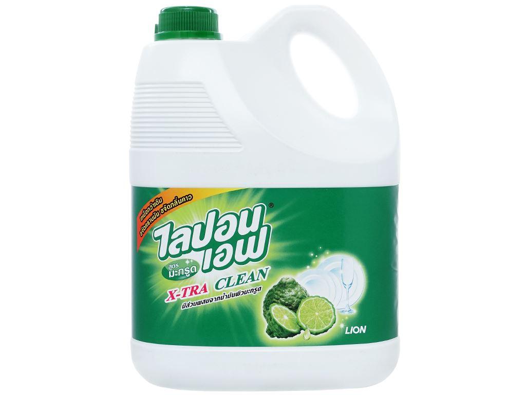 Nước rửa chén Lipon hương dầu thơm Bergamot can 3.6 lít 1