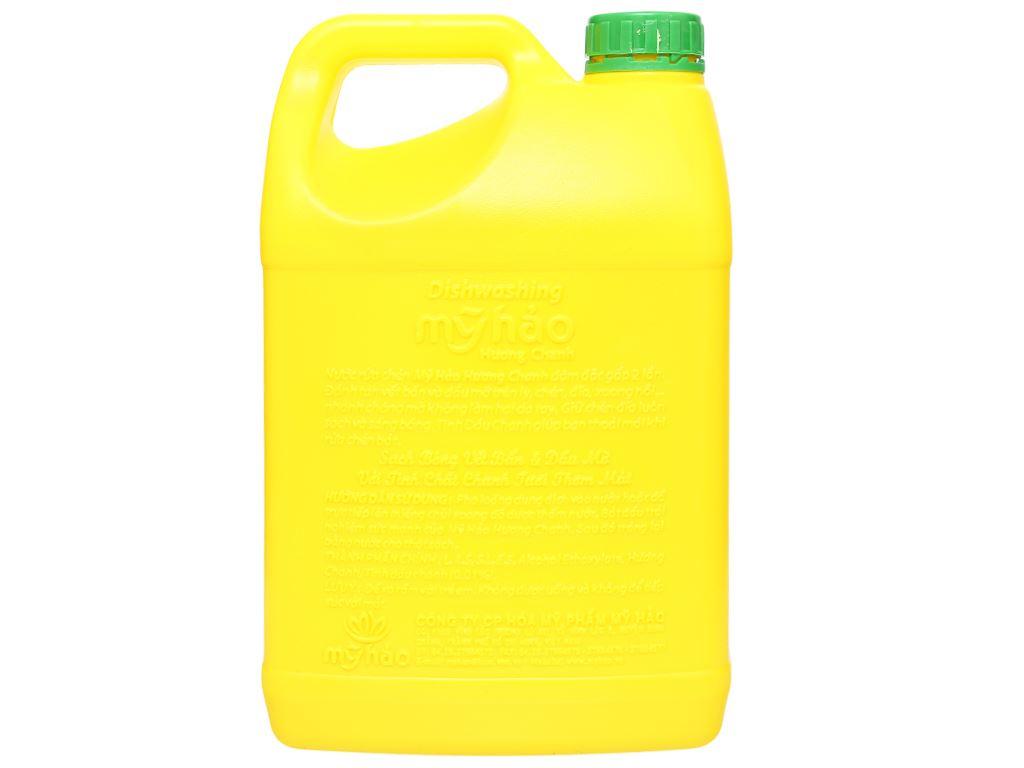 Nước rửa chén Mỹ Hảo hương chanh can 1.6kg 2