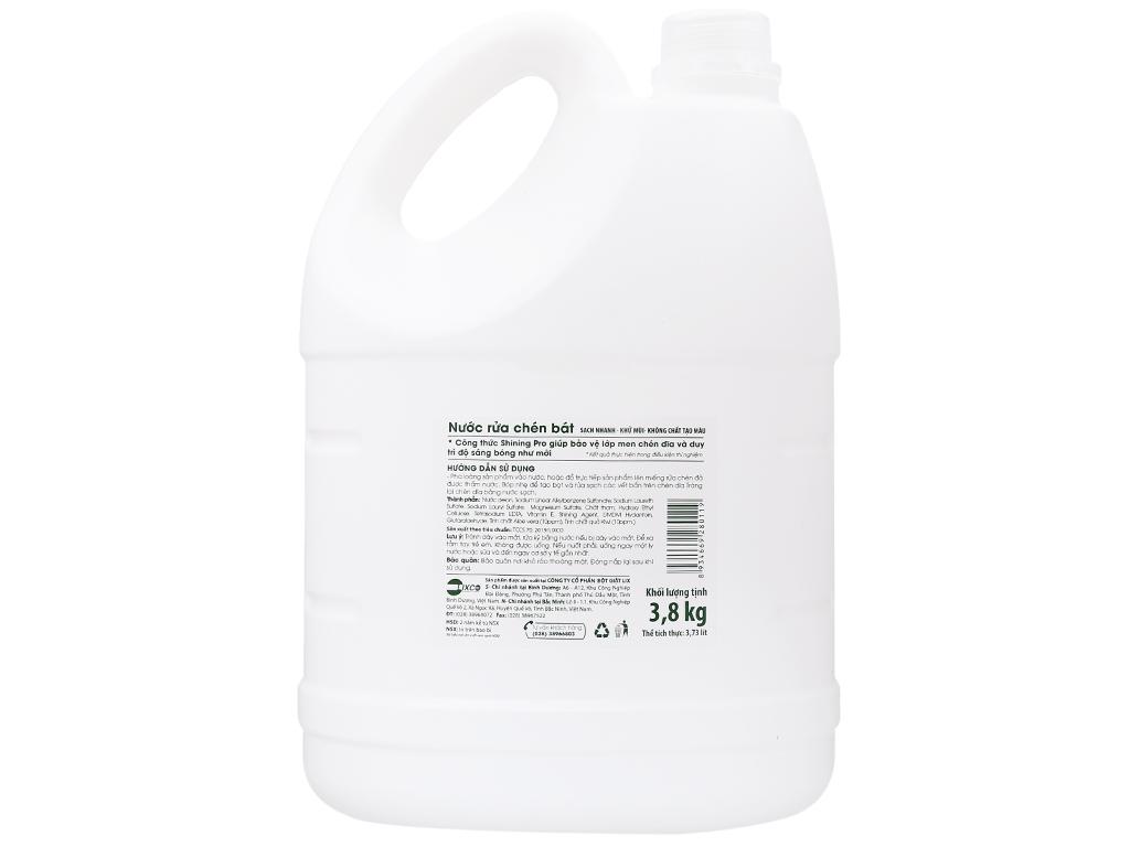 Nước rửa chén On1 hương kiwi và aloe vera can 3.73 lít 2