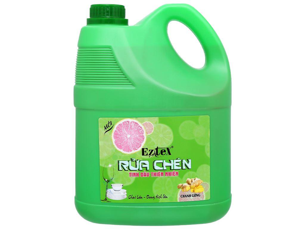 Nước rửa chén Ezitex tinh dầu thiên nhiên can 3.8 lít 1