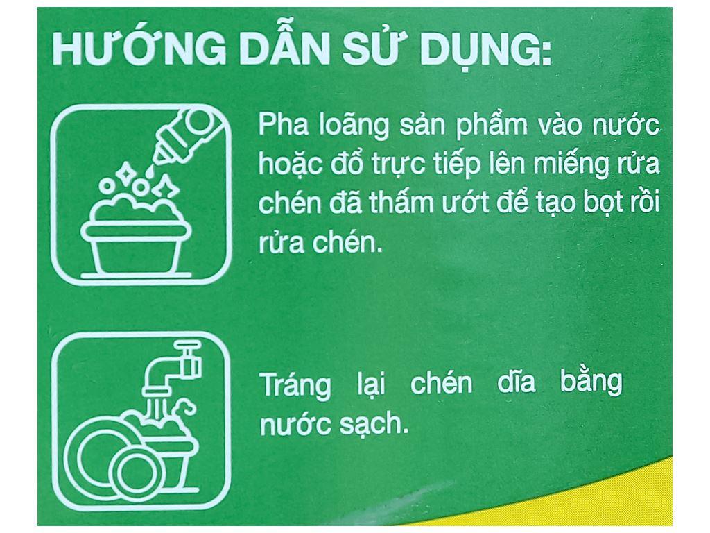 Nước rửa chén IZI HOME hương trà xanh muối biển can 3.6kg 4