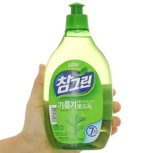 Nước rửa chén Charmgreen tinh chất trà xanh chai 500g