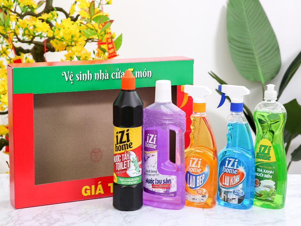 Bộ vệ sinh nhà cửa IZI HOME 5 món 2