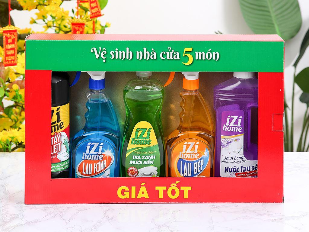Bộ vệ sinh nhà cửa IZI HOME 5 món 3
