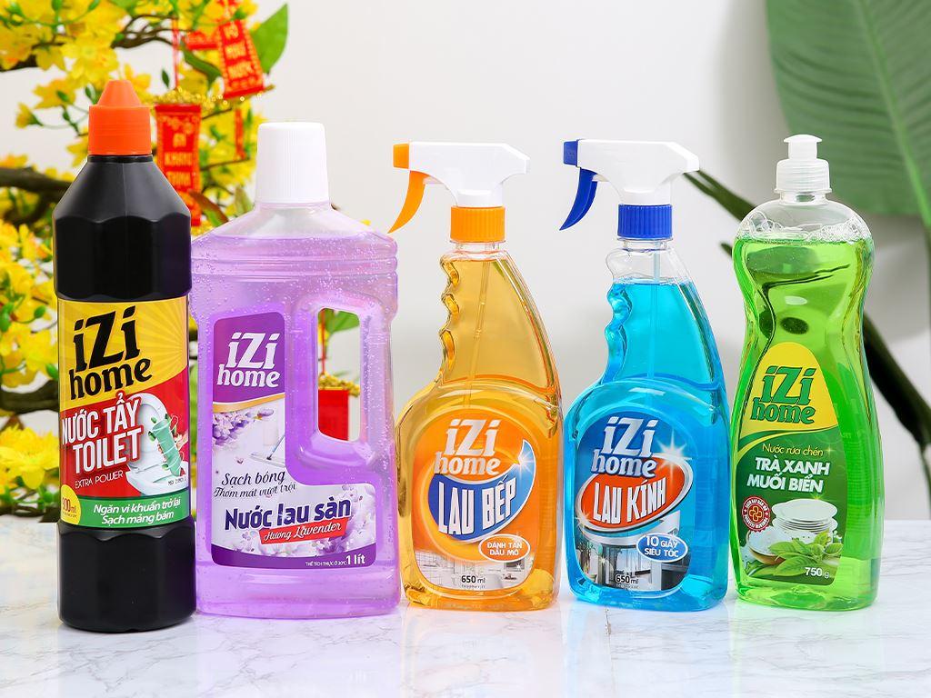 Bộ vệ sinh nhà cửa IZI HOME 5 món 4