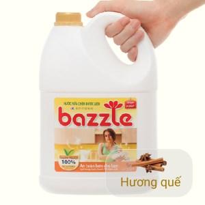 Nước rửa chén dược liệu Bazzle hương quế can 3.2 kg