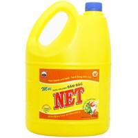 Nước rửa chén NET Đậm đặc Vitamin E hương Chanh tươi can 4kg