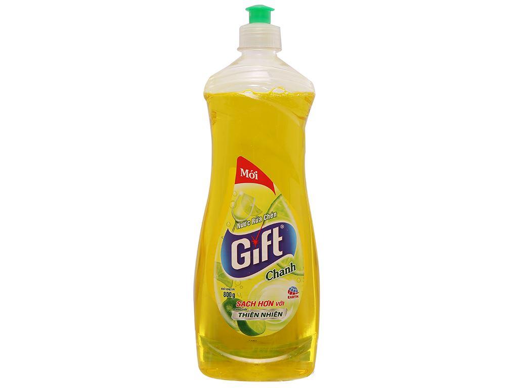 Nước rửa chén Gift hương chanh 800g 1