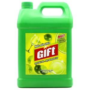 Nước rửa chén Gift hương Chanh can 4kg