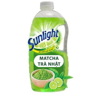 Nước rửa chén Sunlight Extra Trà xanh Matcha Nhật Bản 1.5kg