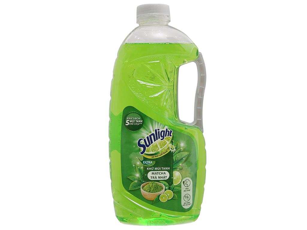Nước rửa chén Sunlight Extra Trà xanh Matcha Nhật Bản 1.5kg 2