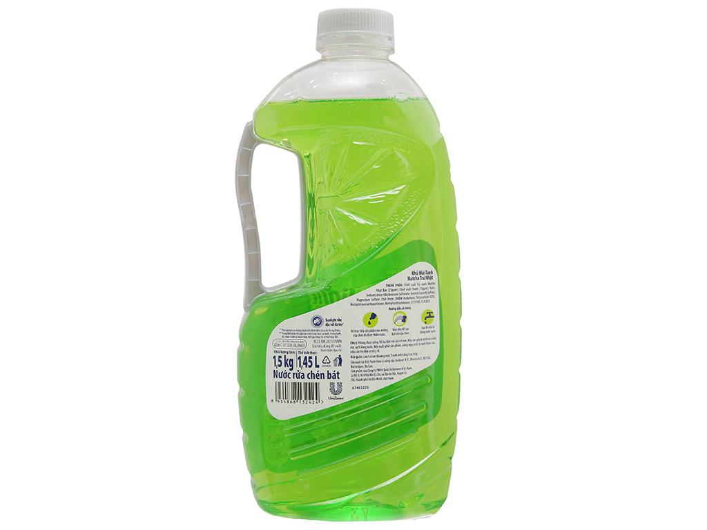 Nước rửa chén Sunlight Extra Trà xanh Matcha Nhật Bản 1.5kg 3