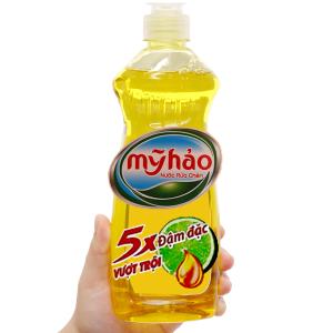 Nước rửa chén Mỹ Hảo 5X đậm đặc chai 400g