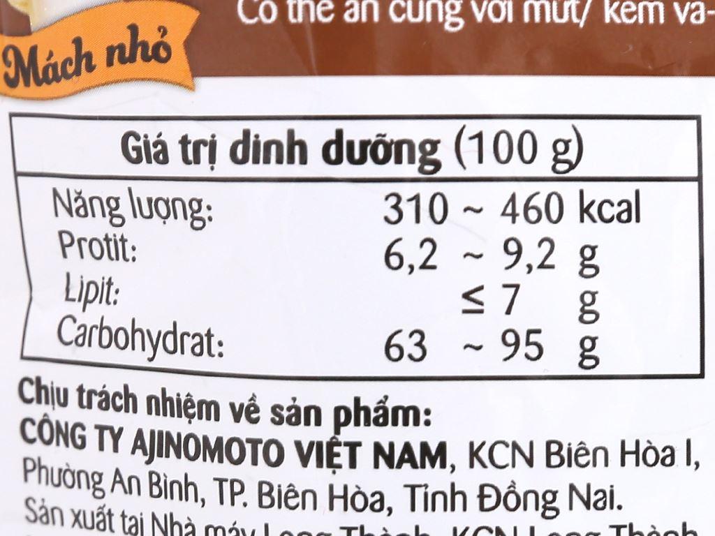 Bột bánh rán Ajinomoto vị socola gói 200g 9
