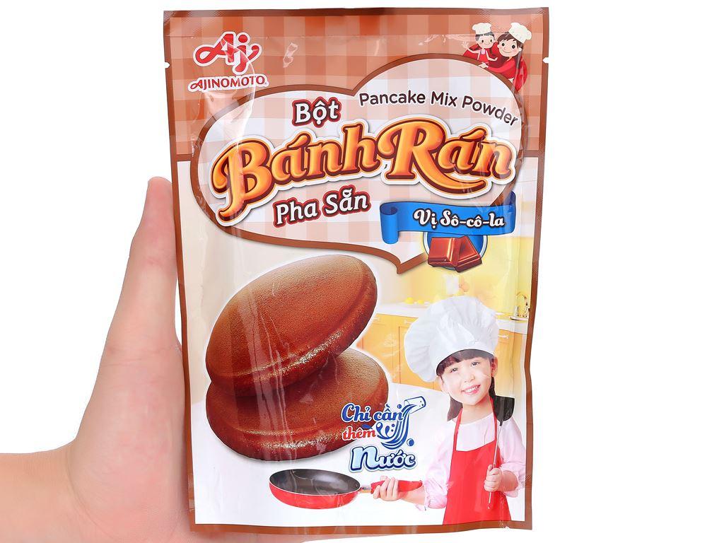 Bột bánh rán Ajinomoto vị socola gói 200g 11