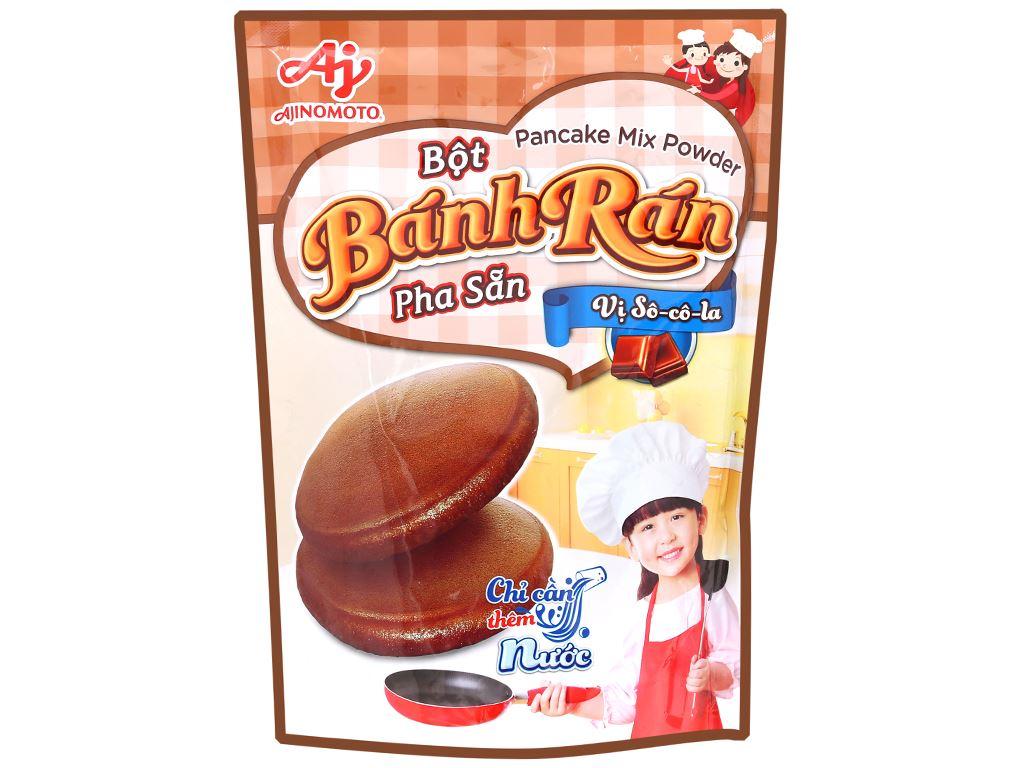 Bột bánh rán Ajinomoto vị socola gói 200g 1