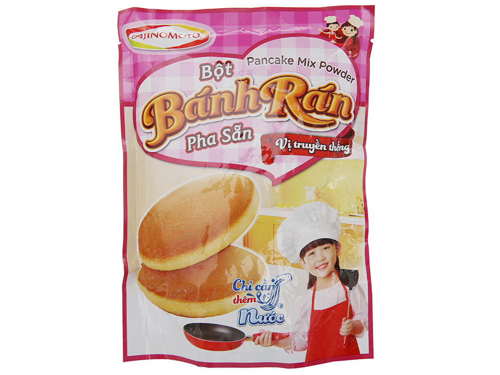 Bột bánh rán Ajinomoto vị truyền thống gói 200g 2