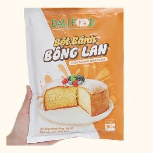 Bột bánh bông lan nướng Dali Food gói 500g