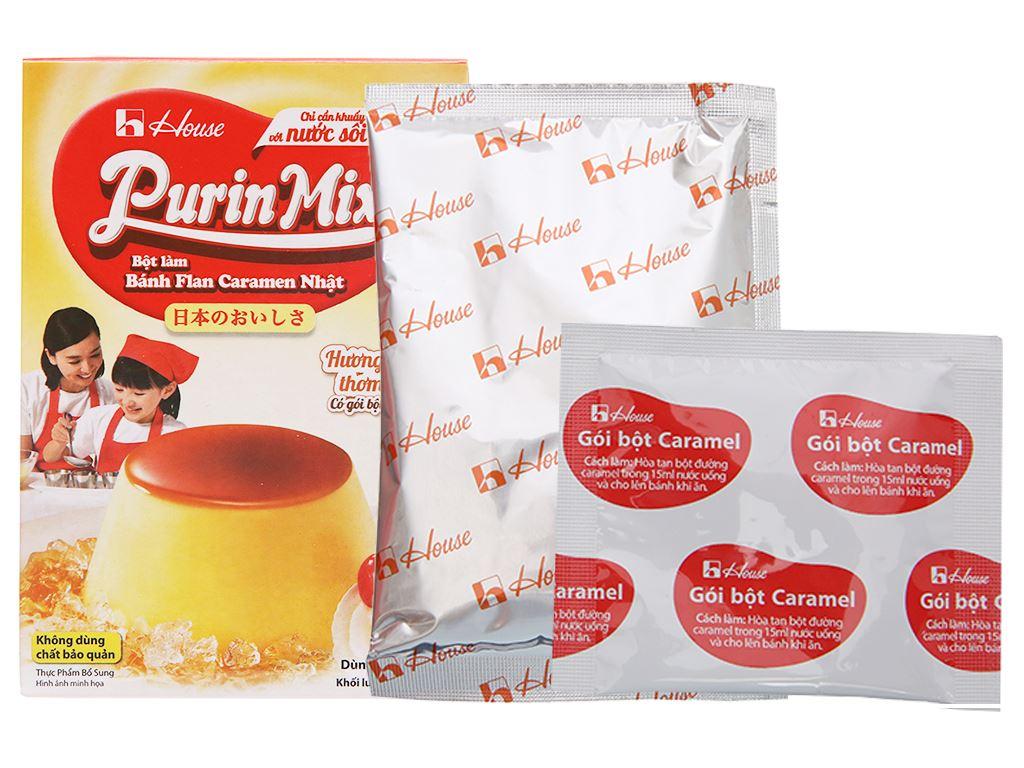 Bột bánh flan House Foods Purin Mix hương vị sữa hộp 53g 5