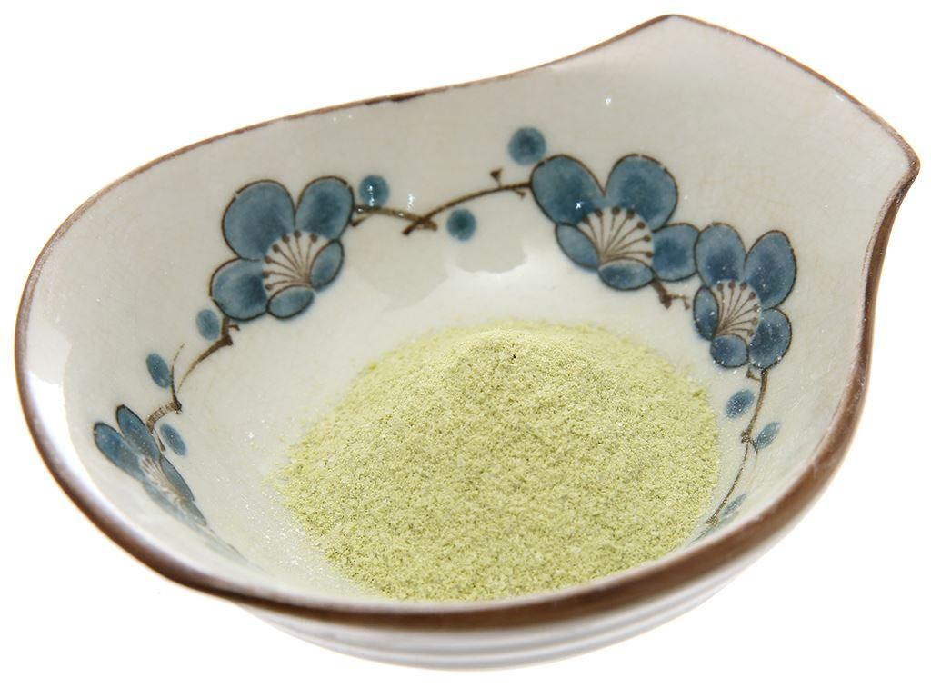Bột làm bánh flan Nhật House Foods Purin Mix vị trà xanh hộp 46g 4