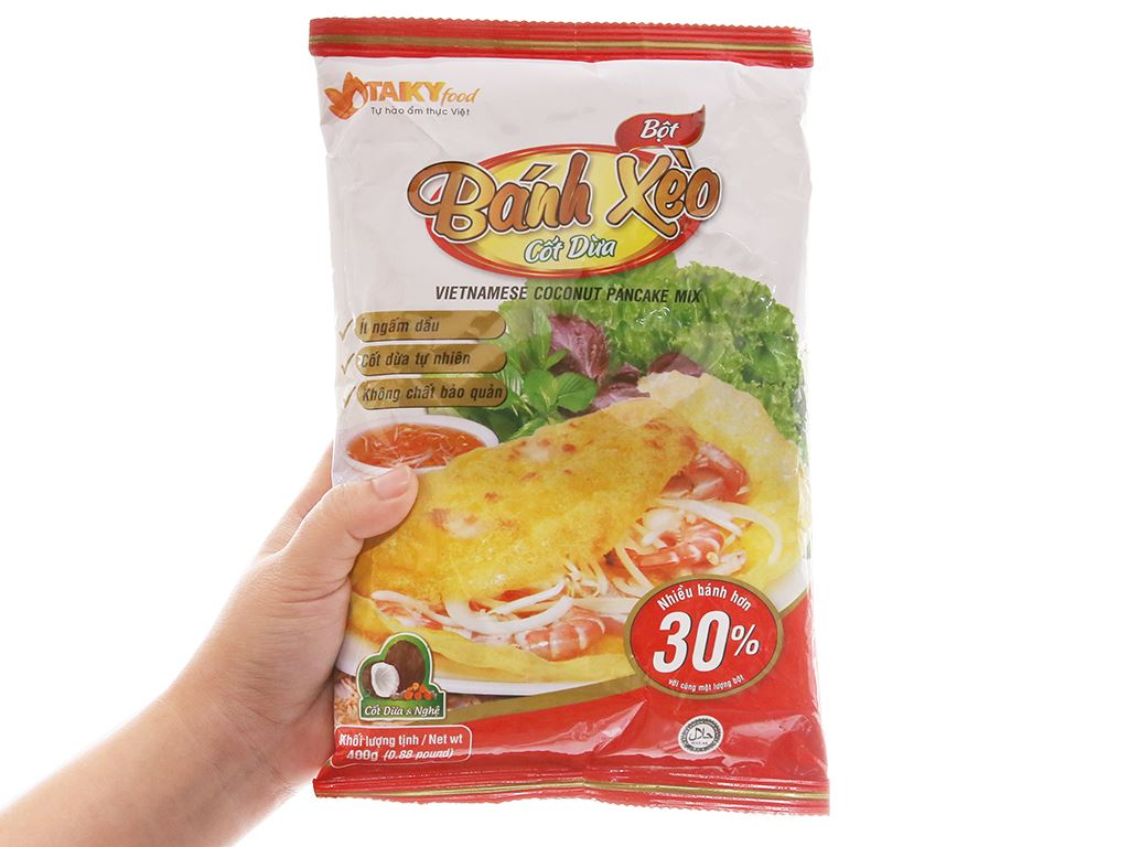Bột bánh xèo Tài Ký gói 400g 4