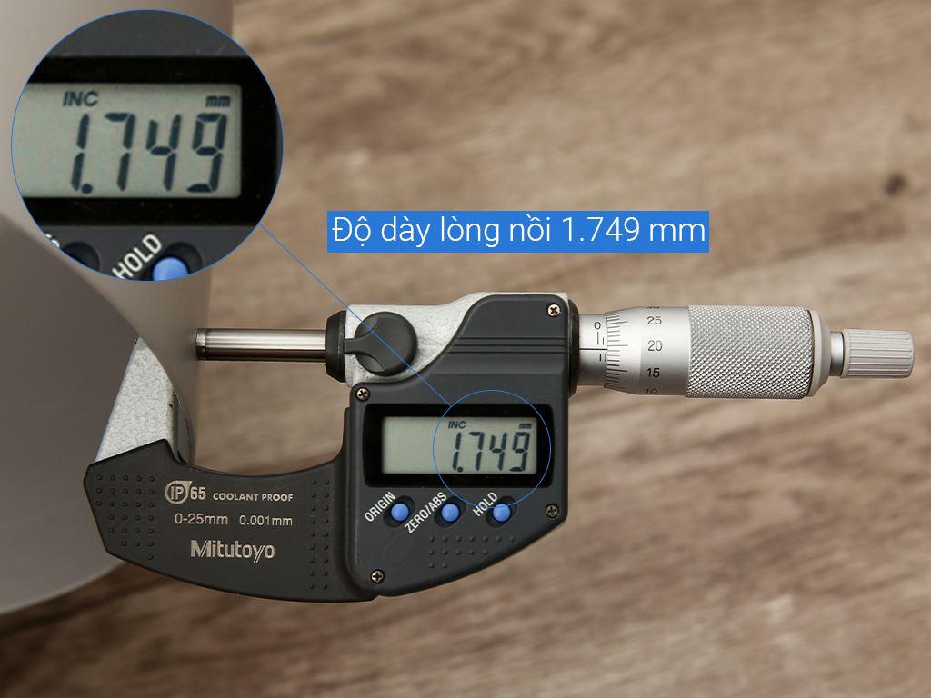 Nồi nhôm oxy hóa mềm 1 đáy Supor HT08008-5 24cm 14