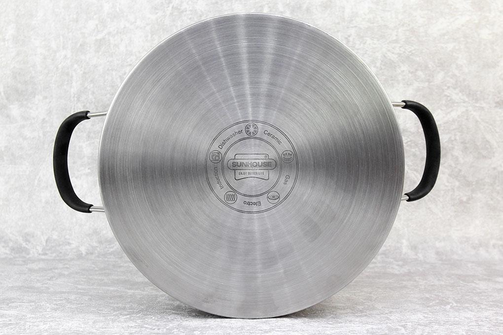 Nồi inox 5 đáy 24 cm Sunhouse SHG24324