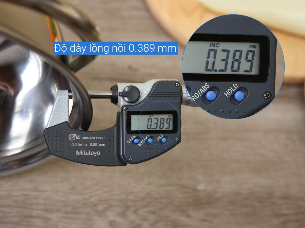 Nồi lẩu inox Rainy RNL 24-1DI5 24cm 6