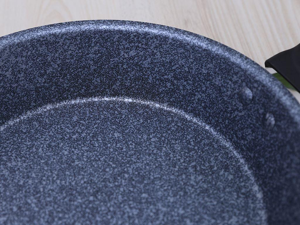Chảo nhôm chống dính đáy từ HappyCook MFP-24IH GRAY 24cm 5