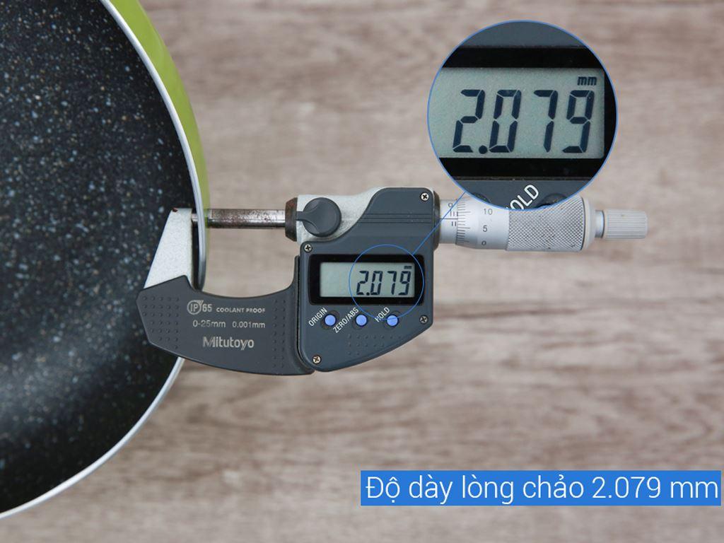 Chảo nhôm chống dính đáy từ Sunhouse SHG1126MG 26cm 5