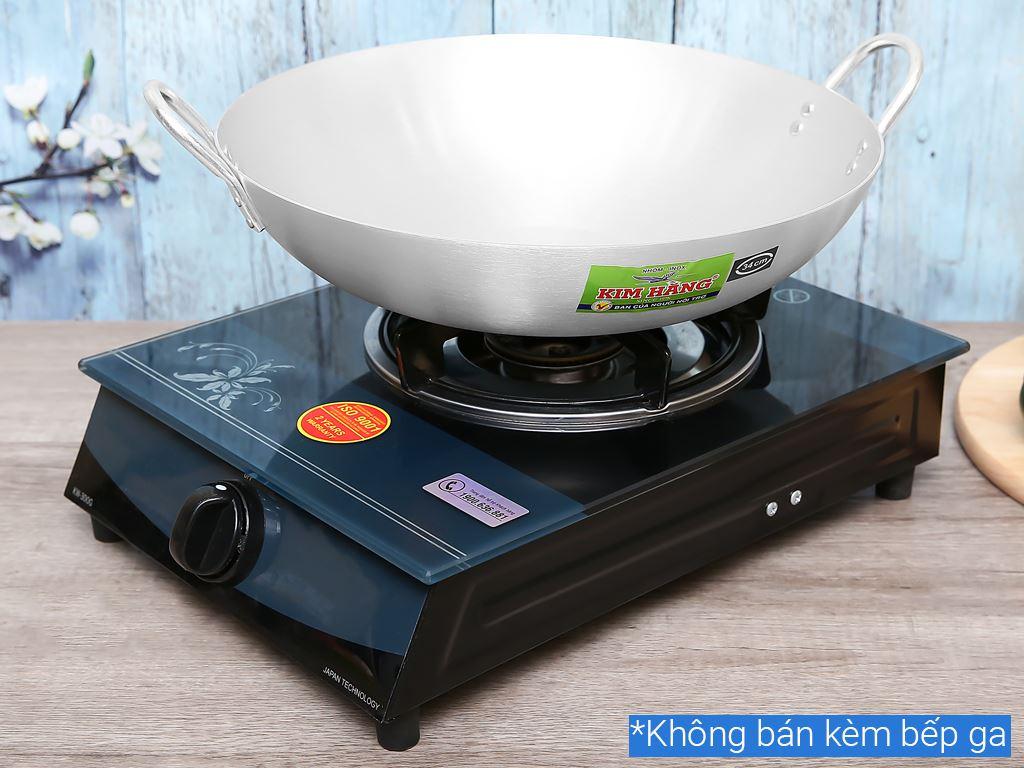 Chảo bầu nhôm Kim Hằng KHG9400 34cm 6