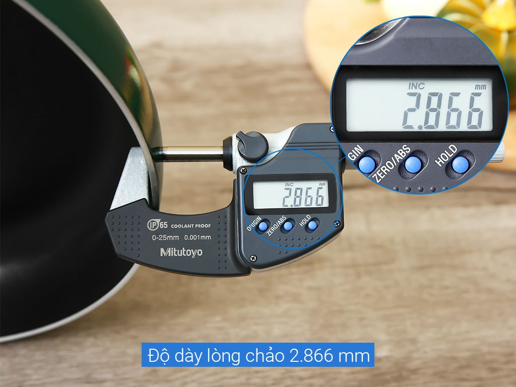 Chảo quánh kilo chống dính Kim Hằng 26cm 12